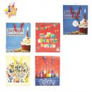 ingrosso Articoli da Regalo & Cartoleria: borse di buon  compleanno, 4 volte assortito