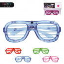 wholesale Fashion & Mode: disguise of  glasses flashing, 4-times assorted