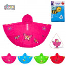 wholesale Garden & DIY store: poncho child, 4-times assorted