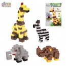 wholesale Toys: 55pieces animal  building block, 4-time asso