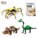 wholesale Toys: building block  dino spider 180pieces, 3-fo