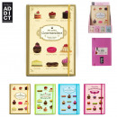 wholesale Gifts & Stationery: a5 notebook  elastic, 4-times assorted
