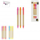 stylo craft flashy x3, 2-fois assorti