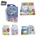 groothandel Stationery & Gifts: pocket notebook  kleuren sticker en potlood x5, 2-