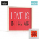 deco light Love is in the air, one-time assorted