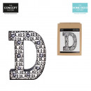 bright letter d, 1-times assorted