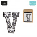 bright letter v, 1-times assorted