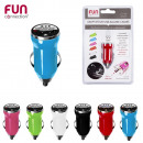 USB car charger, 6-times assorted