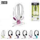 wholesale Consumer Electronics: headphones, 6-times assorted