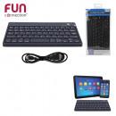 mayorista Informatica y Telecomunicaciones: teclado bluetooth  negro, de una sola vez surtido