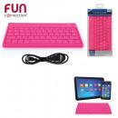 ingrosso Informatica: rosa tastiera  Bluetooth, una volta assortito