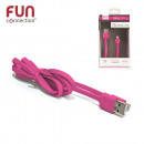 cable AGREE Iphone 5 and 6 pink, 1-times assorted