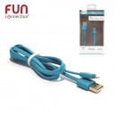 cable AGREE Iphone 5 and 6 blue, 1-times assorted