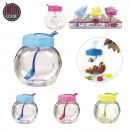 400ml jar with spoon, 3-times assorted