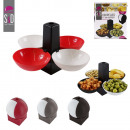 wholesale Houshold & Kitchen: x4 aperture cup  with stand, 3-times assorted