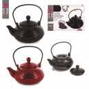 850ml teapot with infuser, 2-times assorted