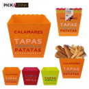 pot tapas x3, 1-times assorted
