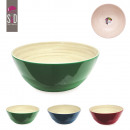 wholesale Crockery: bamboo bowl  31x11.1cm, 3-times assorted