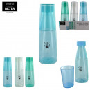 600ml bottle and 200ml glass, 3-times assorted