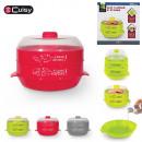 grossiste Aides de cuisine: cuit vapeur 2  etages special  micro-ondes, ...