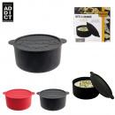 groothandel Opbergen & bewaren: Camembert doos  silicone 13cm, 2-time geassorteerd