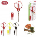 wholesale Kitchen Utensils: 5 blades scissors  with comb, 3-times assorted