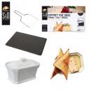 wholesale Pots & Pans: foie gras terrine  lyre box and slate, 1-time