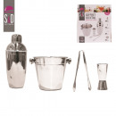 wholesale Kitchen Gadgets: stainless steel  cocktail cabinet x4, 1-times assor