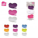 wholesale Garden & DIY store: butterfly clip x3, 3-times assorted