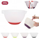 Anti slip pastry bowl, 4-times assorted
