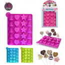 groothandel Bakken: schimmel cake pop  sticks met fancy x20, 3-geloof