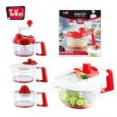 wholesale Kitchen Electrical Appliances: Multifunction  manual robot 5 in 1 piece x17, 1-fai