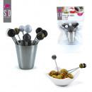 wholesale Garden & DIY store: peak stainless  steel pot with x12, 1-times assorte