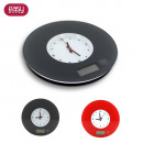 wholesale Kitchen Electrical Appliances: electronic scale  with clock, 2-times assorted