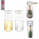 grossiste Fournitures scolaires: sac fraicheur pour  bouteille  champagne, 2-fois ...