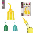 wholesale Garden & DIY store: color cap lever  wine x2, 3-times assorted
