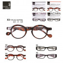 printed reading glasses, 12-times assorted