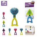 brush washer man, 6-times assorted