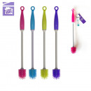 scratch-resistant silicone cleaning brush, 4-faith