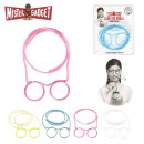 wholesale Glasses: bezel straw, 4-times assorted