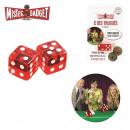 grossiste Gadgets et souvenirs: des de jeu truque  resultat 7 ou 11 x2, 1-fois asso