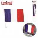 grossiste Automobile et Quads: drapeau supporter  voiture 45x30cm, 1-fois assorti