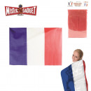 wholesale Fashion & Mode: 90x150cm flag  cape, 1-times assorted