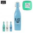 limonade fles 1000ml glas, 3-maal geassorteerd