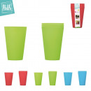 Großhandel Haushalt & Küche: Kunststoff - Glas x4, 3-fach sortiert
