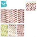 groothandel Keukengerei: doek prints  fruitig katoen  40x70cm, 3-maal ...