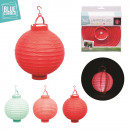 grossiste Maison et habitat: lampion deco led, 3-fois assorti