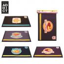 grossiste Tapis & Sols: tapis de cuisine  60x40cm petits biscuits, 4-fois a