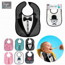 wholesale Home & Living: plastic bib  character, 6-times assorted