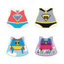 superbebe bib, 4-times assorted